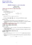 Đề kiểm tra HK2 Toán 10 - THPT Tân Thành 2012-2013 (kèm đáp án)