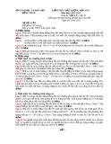 Đề KTCL HK1 Lý 10 - THPT Trần Quốc Toản 2012-2013 (kèm đáp án)
