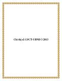 Chỉ thị số 13/CT-UBND 3 2013