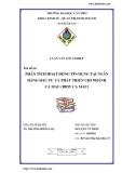 Luận văn: Phân tích hoạt động tín dụng tại ngân hàng đầu tư và phát triển chi nhánh Cà Mau (BIDV Cà Mau)