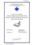 Luận văn: Phân tích hiệu quả hoạt động kinh doanh của trung tâm nước sạch & VSMT nông thôn Vĩnh Long
