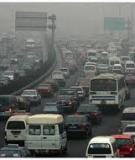 Ô nhiễm không khí do giao thông đường phố ở Hà Nội