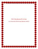 SKKN: Một số biện pháp giúp HS xây dựng các cách mở bài, kết bài trong Tập làm văn lớp 4