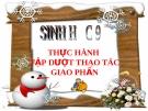 Bài giảng Sinh học 9 bài 38: Thực hành tập hợp thao tác giao phấn