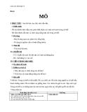 Giáo án Sinh học 8 bài 4: Mô