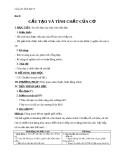 Giáo án Sinh học 8 bài 9: Cấu tạo và tính chất của cơ
