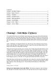 Giáo trình JQuery căn bản đến nâng cao