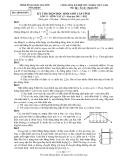 Đề thi học sinh giỏi lớp 12 môn Lý cấp tỉnh - Sở GD&ĐT Thái Nguyên