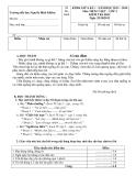 Đề KT giữa HK 1 Toán và Tiếng Việt  2 – Tr. TH Ng. Bỉnh Khiêm (2013-2014)