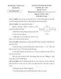 Đề thi tuyển sinh 10 Vật lý - Sở GD&ĐT Hải Dương (2013-2014) đợt 1