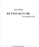 Giáo trình Kế toán quản trị - Nguyễn Bảo Linh
