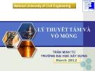 Bài giảng Sức bền vật liệu:  Phần 1 - Trần Minh Tú