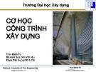 Bài giảng cơ học công trình xây dựng: Chương 3 - Trần Minh Tú
