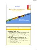 Bài giảng Phân tích dữ liệu trong nghiên cứu Kinh tế và Kinh doanh - TS  Phạm Cảnh Huy