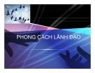 Bài giảng Nghệ thuật lãnh đạo: Chương 5 - TS Nguyễn Quang Anh