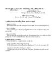 Đề KTCL HK1 Lịch Sử 10 - THPT Hồng Ngự 1 (2012-2013) - Kèm đáp án