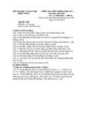 Đề KTCL HK1 Sinh Học 10 - THPT Phú Điền 2012-2013 (kèm đáp án)
