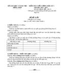 Đề KTCL HK1 Lịch Sử 10 - THPT Châu Thành 2 (2012-2013) - Kèm đáp án