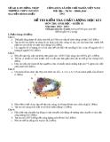 Đề KTCL HK1 Sinh Học 10 - Tr.  Nguyễn Đình Chiểu 2012-2013 (kèm đáp án)