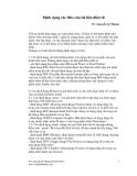 Định dạng các files của tài liệu điện tử - TS. Nguyễn Lệ Nhung