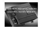 Chương trình đào tạo mô đul: PLC cơ bản - GV. Nguyễn Minh Đức
