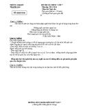 Đề thi Olympic Văn lớp 7 - Phòng GD và ĐT Thanh Oai