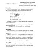 Đề thi học sinh giỏi cấp tỉnh môn Hóa học lớp 6 - (Kèm Đ.án)