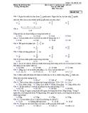 Bộ câu hỏi trắc nghiệm ôn tập cuối năm môn Toán lớp 4 - Trường TH Hiệp Hoà