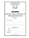 SKKN: Hướng dẫn học sinh lớp 5 luyện tập làm văn