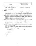 Tổng hợp đề thi học kì 1 môn Toán lớp 11 - Ban nâng cao
