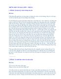Những bài văn hay lớp 5 - Phần 2