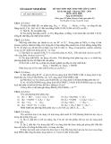 Đề thi học sinh giỏi Hóa học 12 năm 2012-2013 - Kèm đáp án