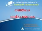 Bài giảng Quản trị Marketing: Chương 6 - Ths. Đỗ Khắc Xuân Diễm