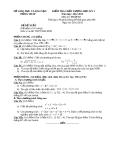 Đề KTCL HK1 Toán 10 - THPT Nha Mân 2012-2013 (kèm đáp án)