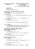Đề KTCL HK1 Toán 10 - THPT Thiên Hộ Dương 2012-2013 (kèm đáp án)
