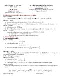 Đề KTCL HK1 Toán 10 - THPT Cao Lãnh 2 (2012-2013) - Kèm đáp án