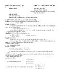 Đề KTCL HK1 Toán 10 - THPT Hòa Bình 2012-2013 (kèm đáp án)