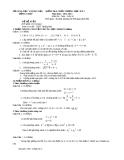 Đề KTCL HK1 Toán 10 - THPT Thống Linh 2012-2013 (kèm đáp án)