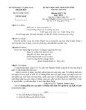 2 đề thi chọn HSG cấp tỉnh Ngữ văn 9