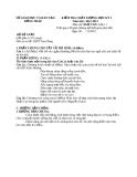 Đề KTCL HK1 Văn 11 - THPT Tam Nông 2012-2013 (kèm đáp án)