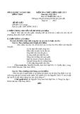 Đề KTCL HK1 Văn 11 - THPT Hồng Ngự 3 (2012-2013) - Kèm đáp án