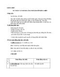 Giáo án bài 48: An toàn và tránh lãng phí khi sử dụng điện - Khoa học 5 - GV.L.K.Chi