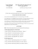 Quyết định 863/QĐ-UBND năm 2013