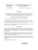 Quyết định 849/QĐ-UBND năm 2013