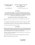 Quyết định 817/QĐ-BLĐTBXH năm 2013 đính chính Thông tư 33/2012/TT-BLĐTBXH
