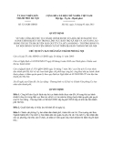 Quyết định 3211/QĐ-UBND năm 2013