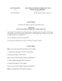Quyết định 819/QĐ-CTN năm 2013