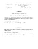Quyết định 901/QĐ-CTN năm 2013
