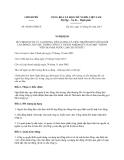 Nghị định 50/2013/NĐ-CP