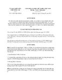 Quyết định 31/2013/QĐ-UBND